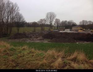 Baustelle Schacht SD17